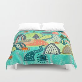 Happy Hills. Duvet Cover