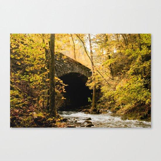 Stone Bridge Canvas Print