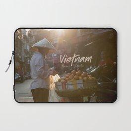 Vietnam street market Laptop Sleeve