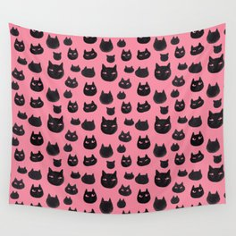 Watercolor Cats Wall Tapestry