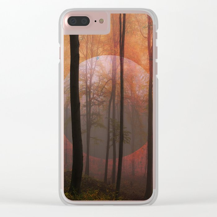 Not From Here, Surreal Forest Clear iPhone Case