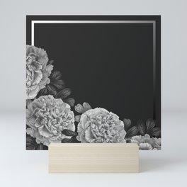 Flowers in the night Mini Art Print