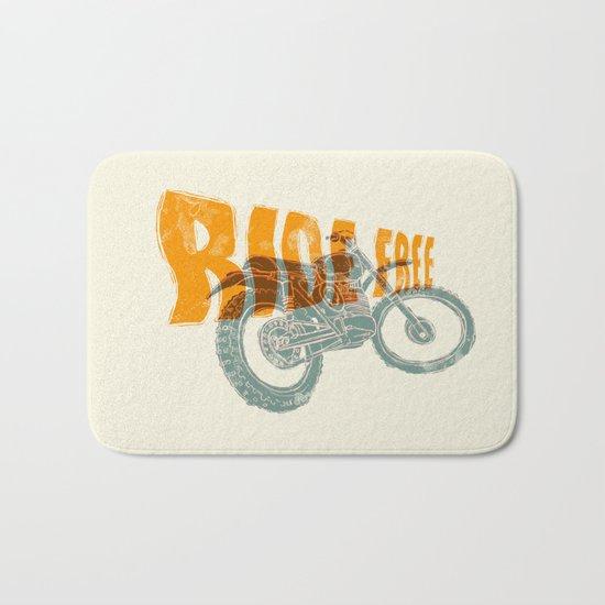 Ride free motocross Bath Mat