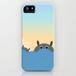 Hippos iPhone Case