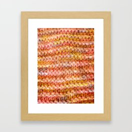 Wool 5 Framed Art Print