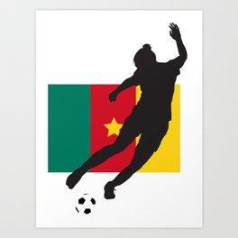 Cameroon - WWC Art Print