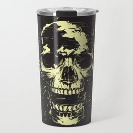 Scream (gold) Travel Mug