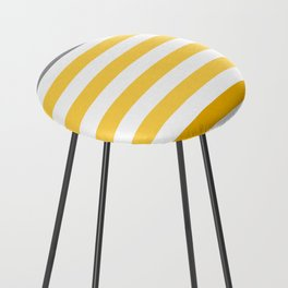 Stripes Gradient - Yellow Counter Stool