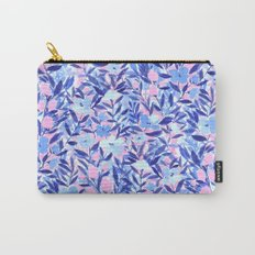 Nonchalant Blue Carry-All Pouch