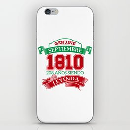 Leyend of 1810 iPhone Skin