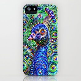 Brilliant Jeweled Peacock iPhone Case