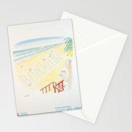 Plakat credit suisse votre bonheur nous Stationery Cards