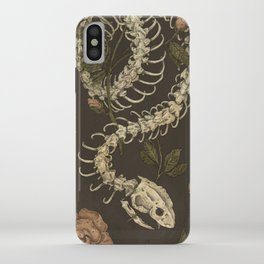Snake Skeleton iPhone Case