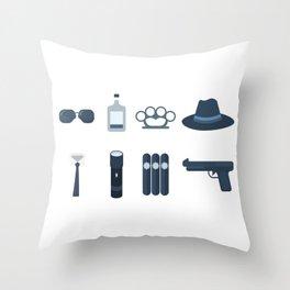A Hit Kit Throw Pillow