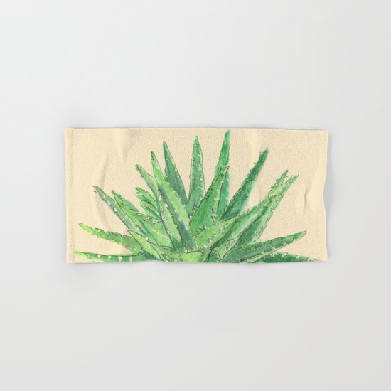 Aloe Hand & Bath Towel