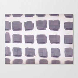 Purple Squares Canvas Print