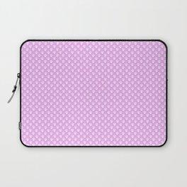 Tiny Paw Prints Pretty Pink Pattern Laptop Sleeve