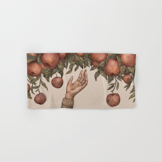 Apple Picking Hand & Bath Towel
