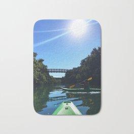 Kayaking in Austin Bath Mat