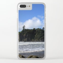 Sea Stacks Clear iPhone Case