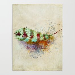 DREAM CATCHER FEATHER Poster