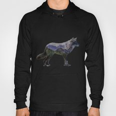 The Rocky Mountain Gray Wolf Hoody