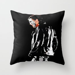 The Cleaner Throw Pillow