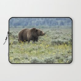 Smiling Grizzly #399 Laptop Sleeve