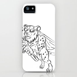Cheetah Airconditioning and Refrigeration Mechanic iPhone Case