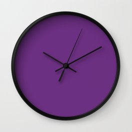 Eminence - solid color Wall Clock