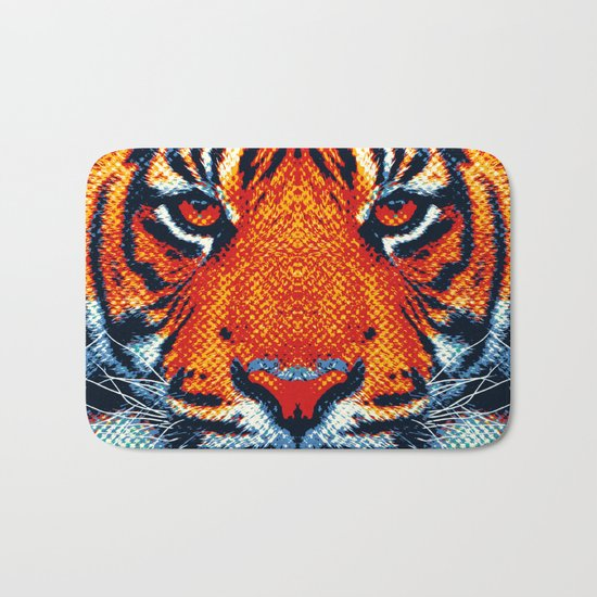 Tiger - Colorful Animals Bath Mat