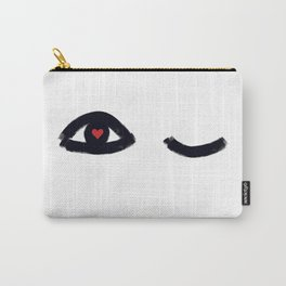 Eye Candy (minimalist illustration) Carry-All Pouch