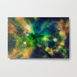 An Explosion of Color Metal Print