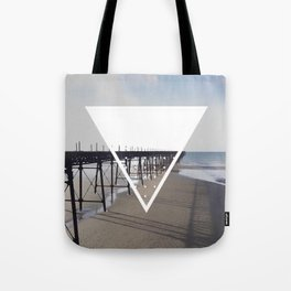 Victorian Pier - triangle Tote Bag