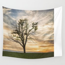 Kentucky Sunset Wall Tapestry