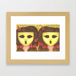 The Ghostesses Of Caprice Art Print #2 Framed Art Print