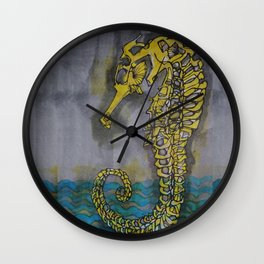 horsefish skeleton Wall Clock