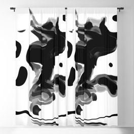 Ink Blot 11 Blackout Curtain