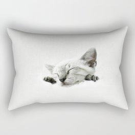 Sleeping beauty Rectangular Pillow