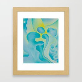 The Forces beneath the Stories Framed Art Print