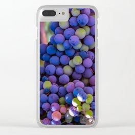 Bunches of Grapes  Clear iPhone Case