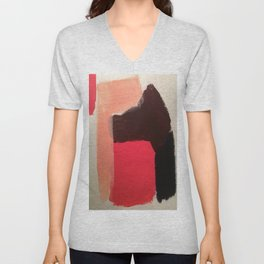and then you smiled Unisex V-Neck