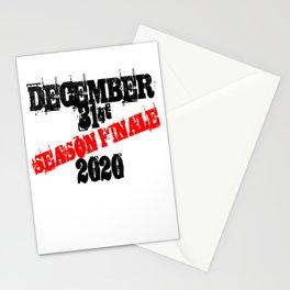 December 31st 2020 Season Finale Joke Stationery Cards