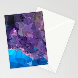 Geometric Galaxy Low Poly 1 Stationery Cards