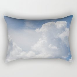 Fluffy Puffy Clouds in the Florida Sky Rectangular Pillow