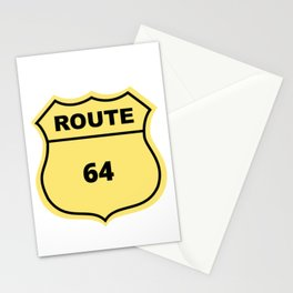 US Route 64 Stationery Cards