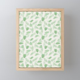 Tropical Leaves 2 Framed Mini Art Print