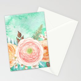 Flowers bouquet 76 Stationery Cards