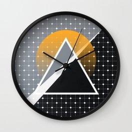 London - Abstract Sunset Wall Clock