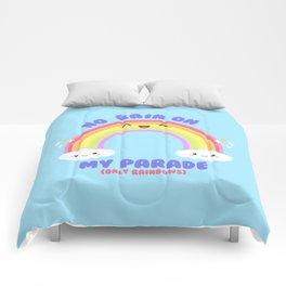 Rainbow Parade Comforters